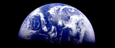 The Earth - Taken by Galileo Spacecraft